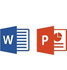 ikony MS Word i PowerPoint
